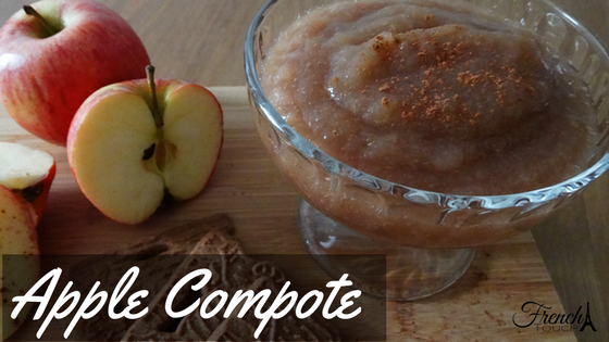French compote applesauce recipe