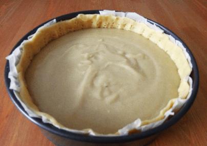 flan patissier- custard pie