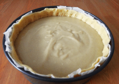 flan patissier- custard pie