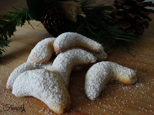 vanilla kipferl christmas cookie recipe
