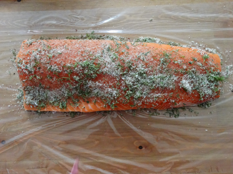 cured salmon recipe