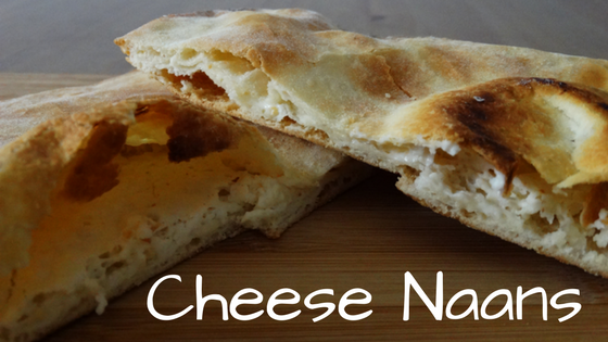 cheese naans vegetarian recipe