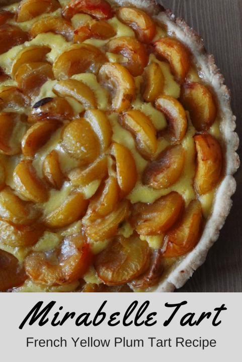French yellow plum tart recipe