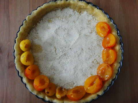 French yellow plum tart recipe