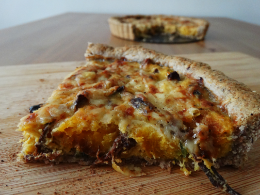 autumn butternut tart recipe