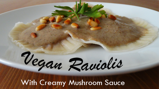 Vegan raviolis recipe