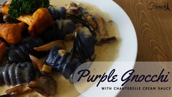 purple gnocchi recipe
