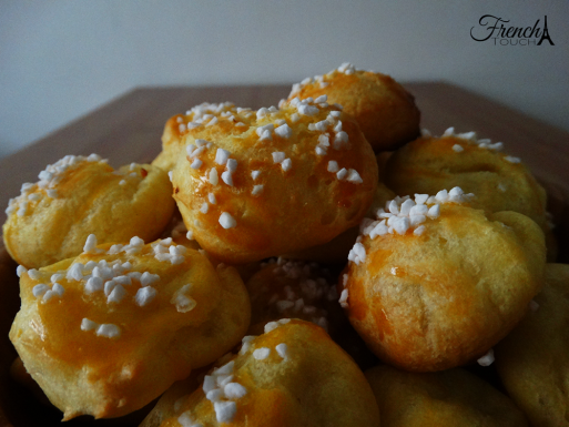 chouquette French puffs recipe