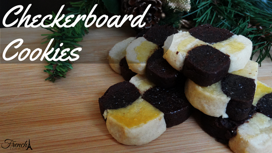 checkerboard christmas cookies recipe