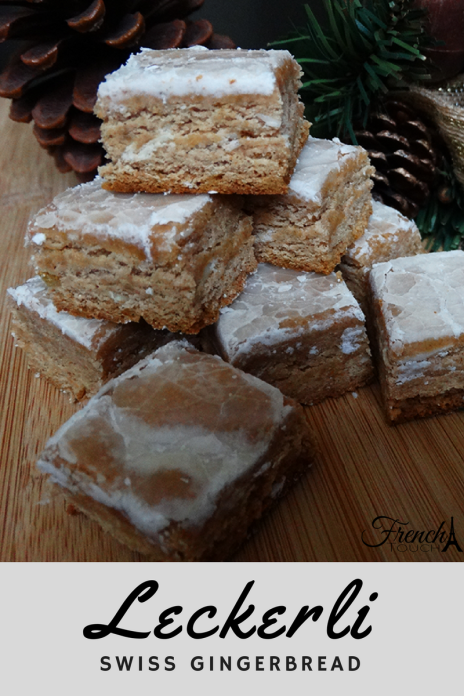 leckerli gingerbread recipe