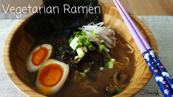vegetarian and vegan ramen recipe