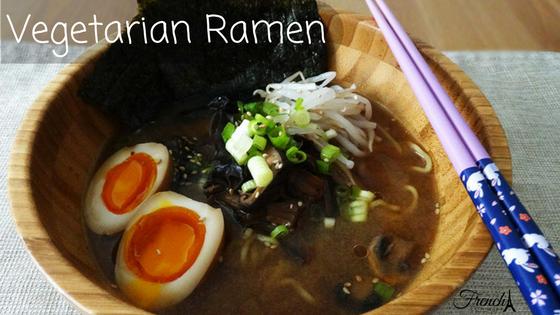 vegetarian and vegan ramen recipe