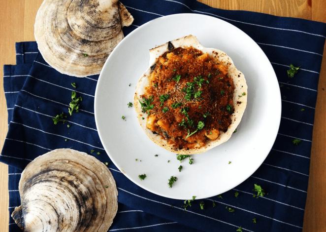 French scallop recipe