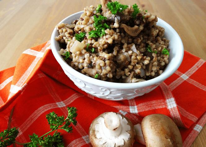 buckwheat risotto recipe