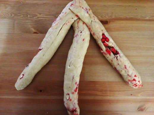 vegan pink pralines brioche recipe