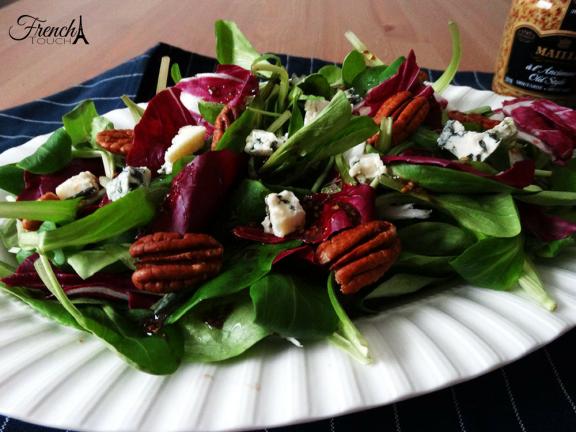 mâche salad recipe