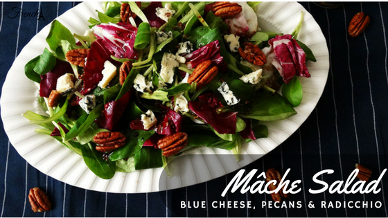 mâche salad recipe