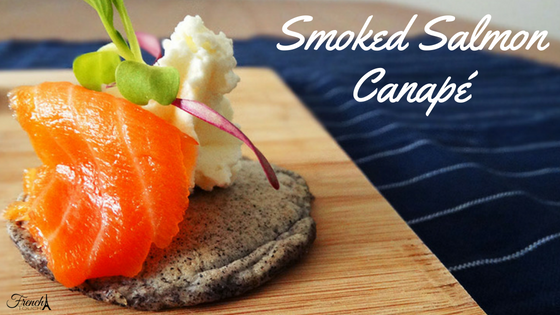 smoked salmon hors d'oeuvre recipe
