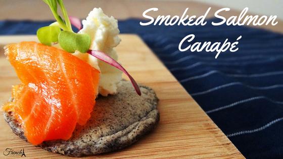 smoked salmon hors d'oeuvre recipe