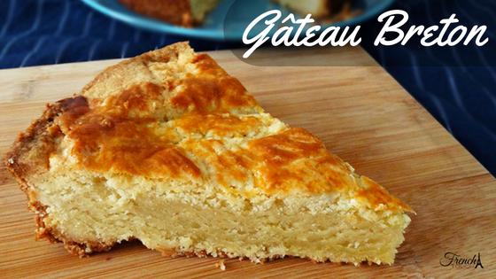 gâteau breton recipe