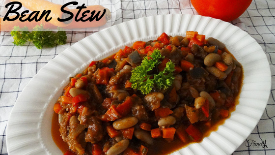 vegan bean stew recipe