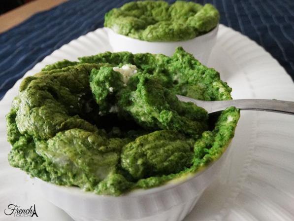 spinach soufflé recipe